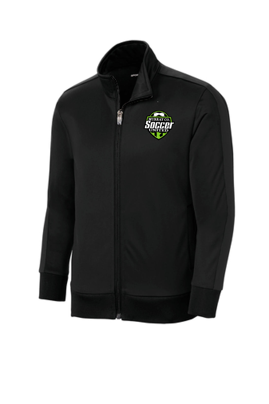 MURRAY COUNTY SOCCER UNITED BLACK TRACK JACKET
