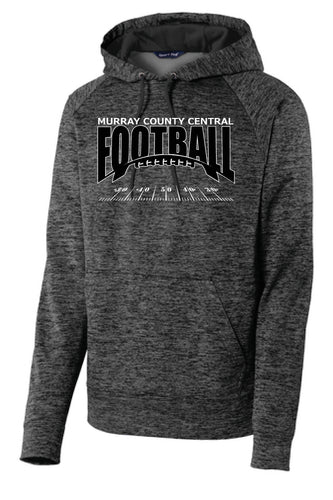 MCC Football Sport-Tek® PosiCharge® Electric Heather Fleece Hooded Pullover