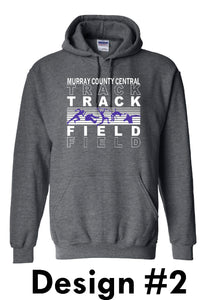 MCC TRACK & FIELD Gildan® - Heavy Blend™ Hooded Sweatshirt -  DESIGN CHOICE