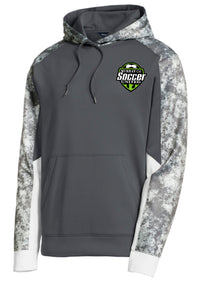 MURRAY COUNTY SOCCER UNITED HOODED GREY  PULLOVER