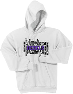 MCC Baseball Port & Company® - Core Fleece Pullover Hooded Sweatshirt - MULTIPLE CHOICES!