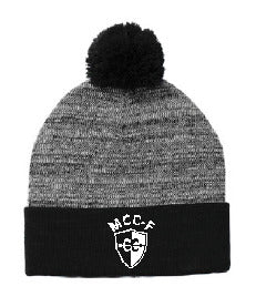 MCC/F  Cross Country    Sport-Tek ® Heather Pom Pom Beanie