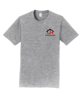 Herding/Langland Construction Cotton TShirt- Athletic Grey