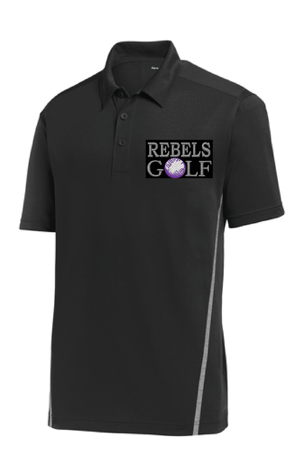 MCC GOLF Sport-Tek® Contrast PosiCharge® Tough Polo®