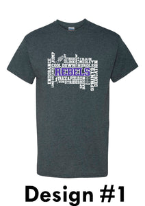 MCC TRACK & FIELD Gildan® - Heavy Cotton™  T-Shirt-  DESIGN CHOICE