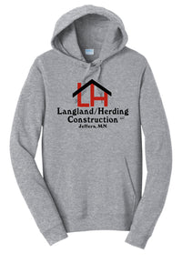 Herding/Langland Construction Cotton Fleece Sweatshirt-Athletic Heather