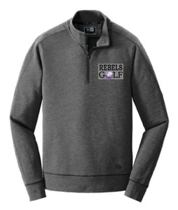 MCC GOLF New New Era® Tri-Blend Fleece 1/4-Zip Pullover