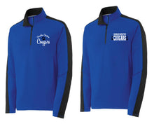 Load image into Gallery viewer, CCS SPORT-TEK unisex COLORBLOCK 1/4 ZIP-LEFT CHEST EMBROIDERY