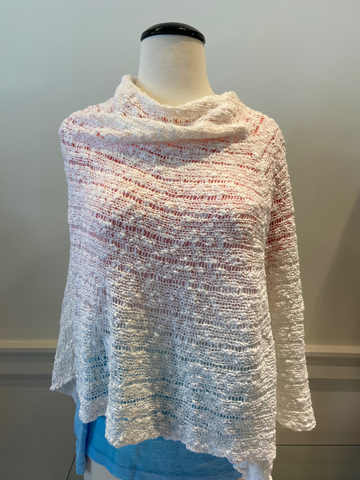 Open Weave Poncho