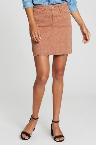 Mini Cheetah Print Skirt