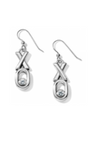 Fashionista Hugs and Kisses French Wire Earring