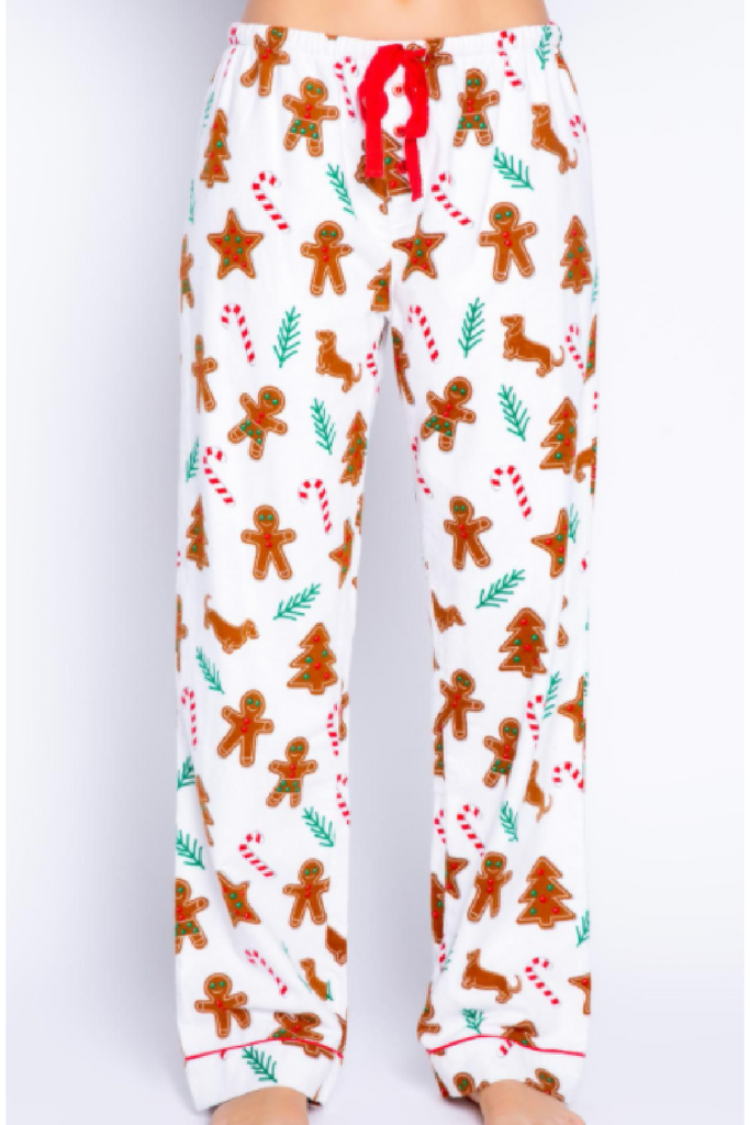 Gingerbread Flannel Pant