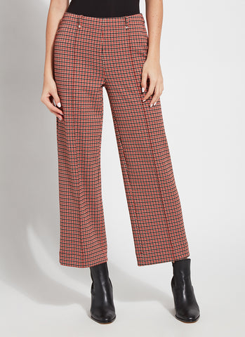Houndstooth Check Ankle Pant