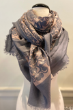 Abstract Scroll Scarf