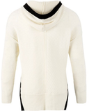 Ribbed Sweater Hoodie