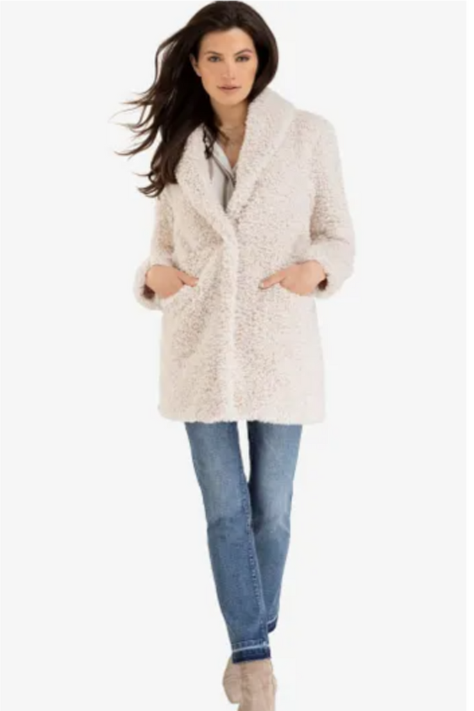 Lux Faux Fur Coat