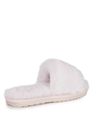 Lilac Ash Fuzzy Slipper-Slide