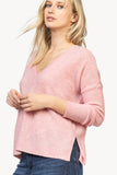 Loose Fit Cashmere V-Neck
