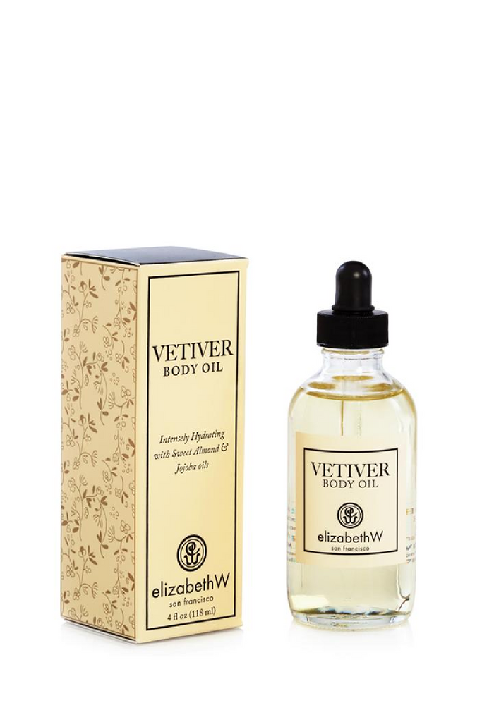 Vetiver Body Oil - 4 oz