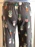 Cacti Flannel PJ Pants