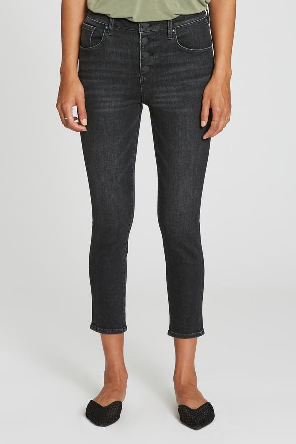 Super High-Rise Cropped Skinny