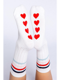 Heart Bottom Slipper Socks