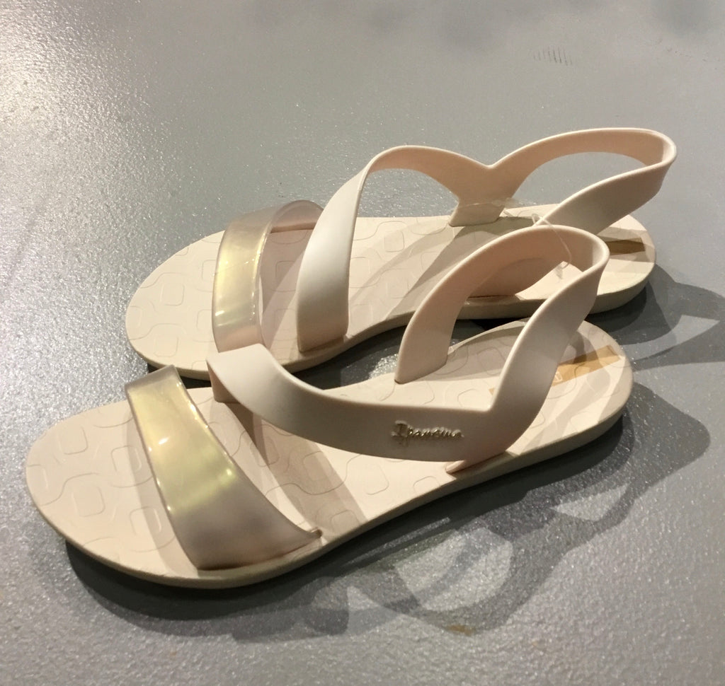 Ipanema Easy Slide Sandal: Pearly Beige