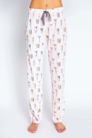 Pink Cocktail Lounge Pant
