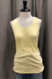 Slub Tank with Lace