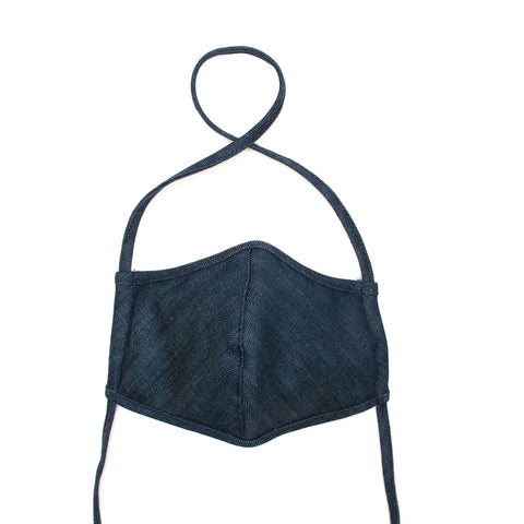 Denim Face Masks - set of 2