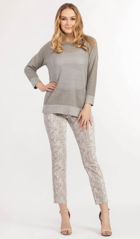 Lurex Knit Shimmer Sweater
