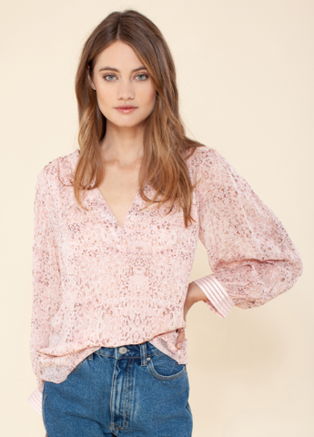 Tia Blush Blouse