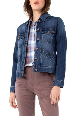 Silky Soft Denim Jacket