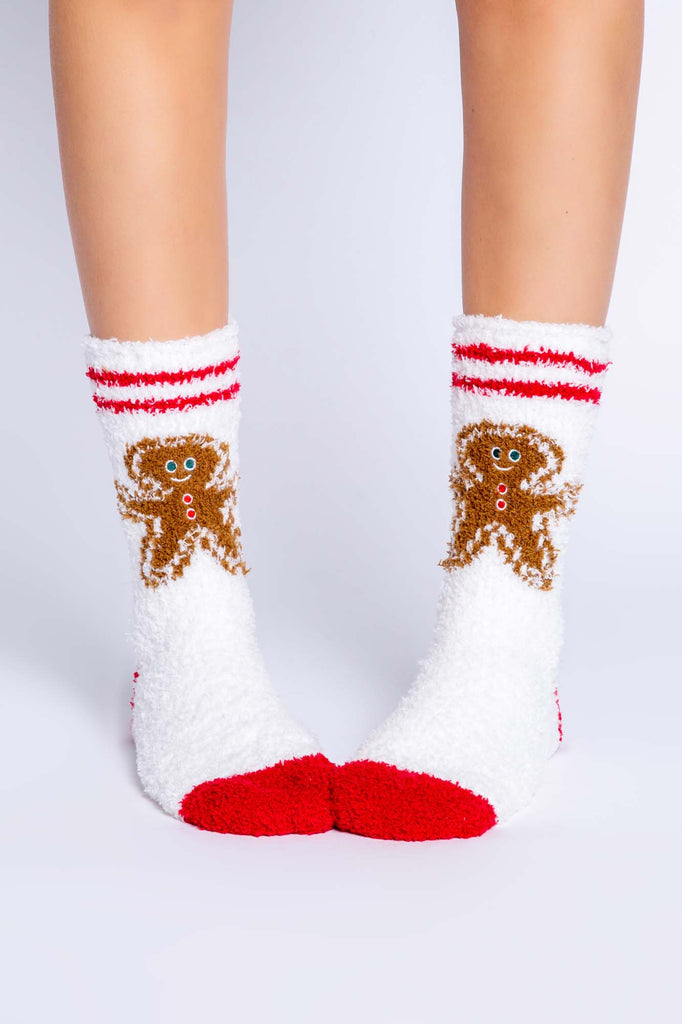 Fun Socks Gingerbread Man