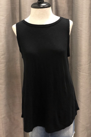 Black Swing Tank with Twist (One Size)
