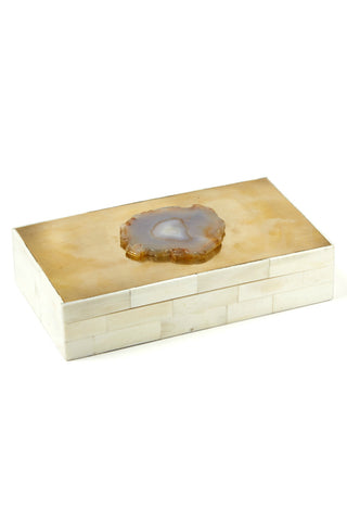 Tozai Agate Jewelry Box