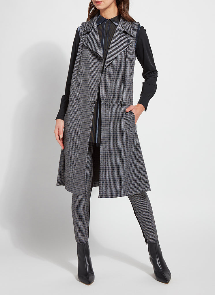 Herringbone Trench Vest
