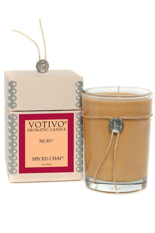 Votivo Aromatic Candle -Spiced Chai