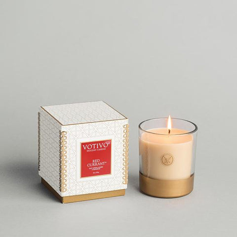 Votivo Holiday Collection 10 oz Candle - Red Currant