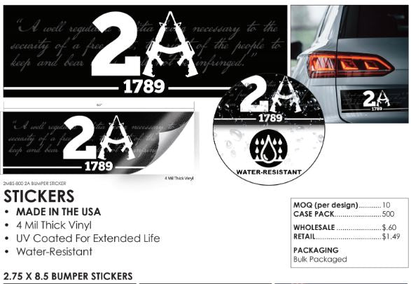 Bumper Stickers - Made in the USA