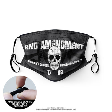Face Mask - 2nd Amendment (12 Masks)