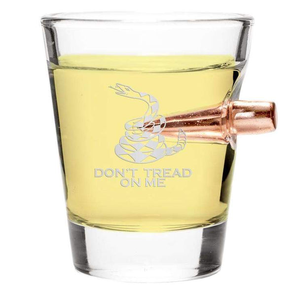 .308 Bullet Shot Glass – Don't Tread on Me