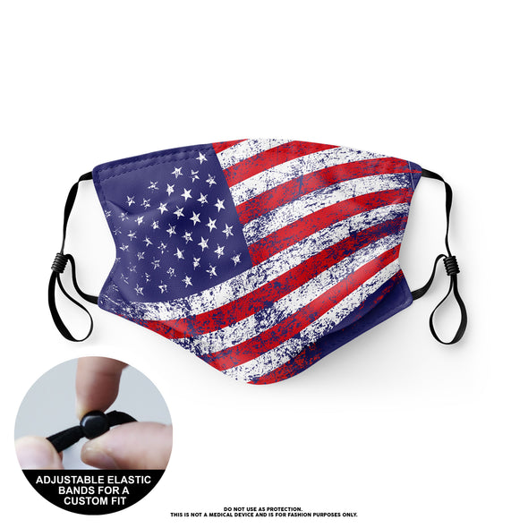 Face Mask - American Flag (12)