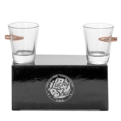 .308 Bullet Shot Glass 2 Pack Gift Set