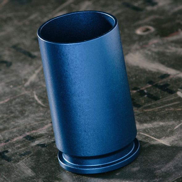 30MM A-10 WARTHOG SHELL Shot Glass Blue