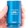 "30MM A-10 Warthog Shell Shot Glass - Engraved with ""A-10 Warthog - 30MM GAU-8"" - Blue, Red, or Black"