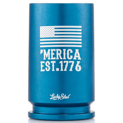 30MM A-10 Warthog Spirit Series Shot Glass - 'Merica EST. 1776