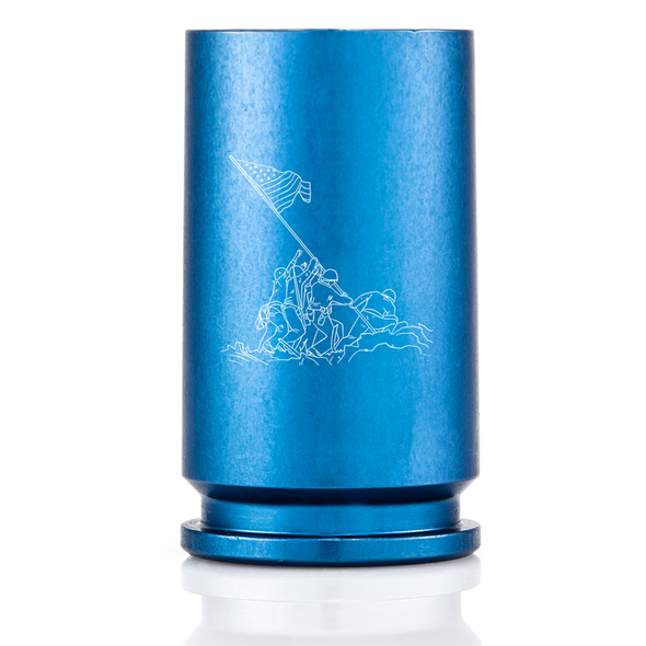 30MM A-10 Warthog Spirit Series Shot Glass - Iwo Jima Blue