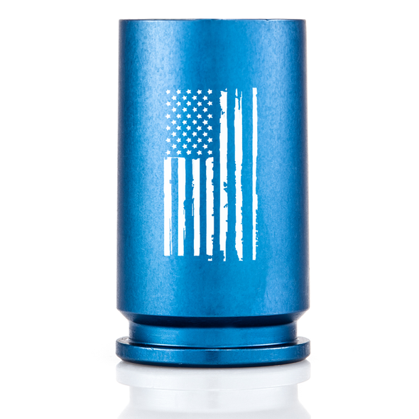 30MM A-10 Warthog Spirit Series Shot Glass - Weather Flag Blue