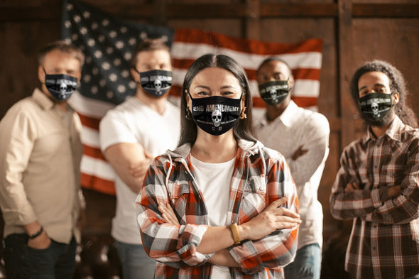 Face Mask - We the People... (12 Masks)